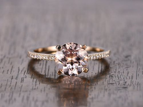 Morganite Engagement Rings For Women