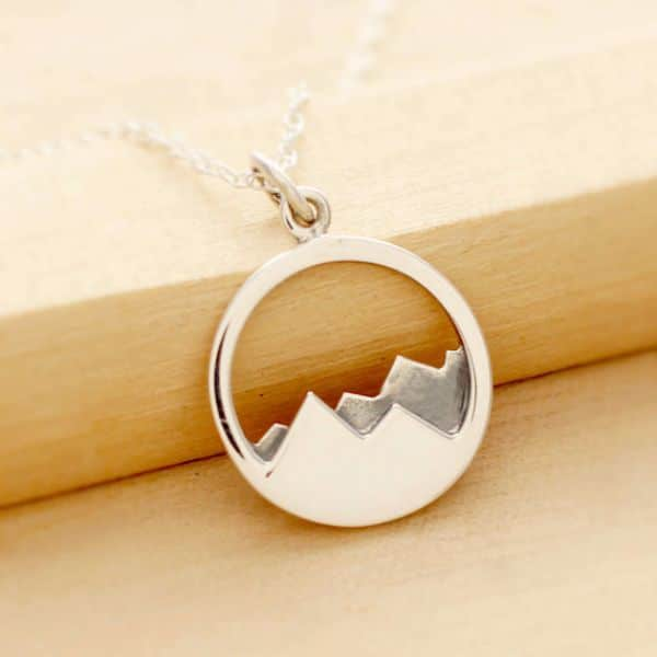 Mountain Necklace Jewelry fo Wanderlusters