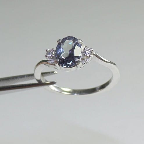 chatham engagement products dust by ring rings star alexandrite dsc elevated bezel nodeform diamond