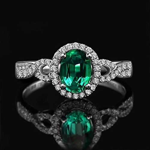 23 Stunning Antique Natural Emerald Rings Ring to Perfection