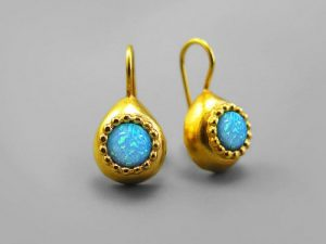 Natural Opal Earrings