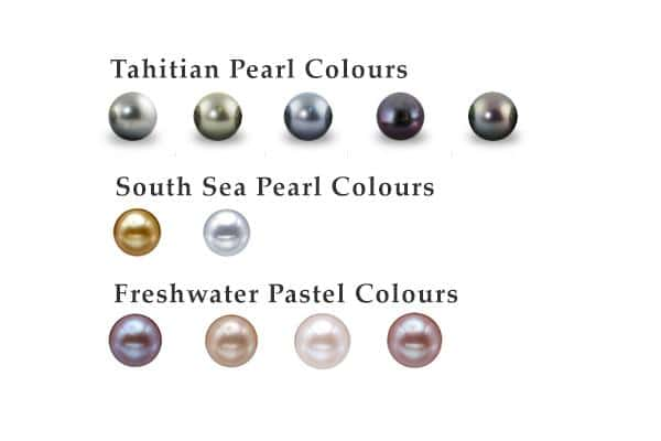 Natural Pearl Colors