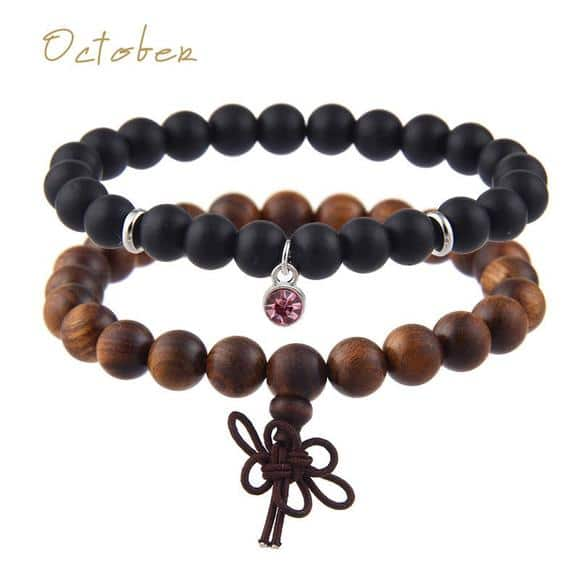 October Birthstones Bracelet Set