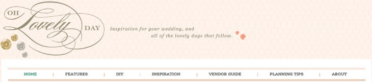 Oh Lovely Day Wedding Blog