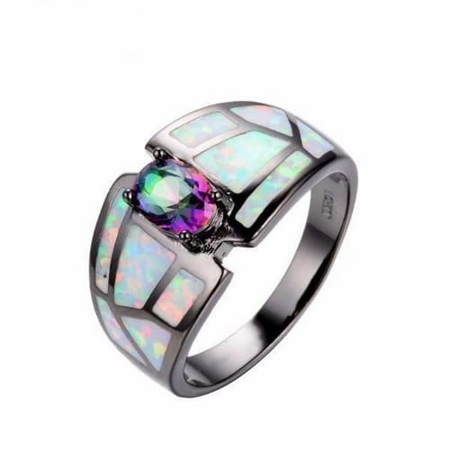 Opal And Diamond Engagement Rings Uk