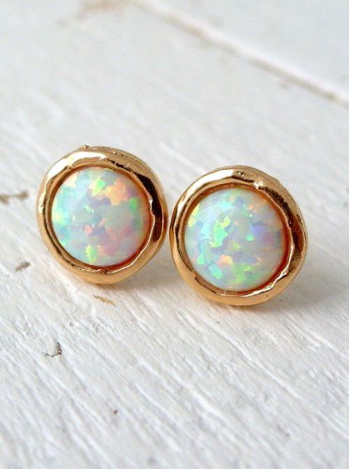 Opal Earings Zales