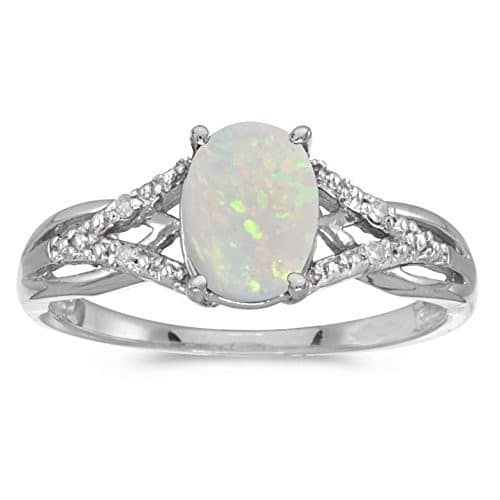 opal engagement rings canada - Opal Wedding Ring