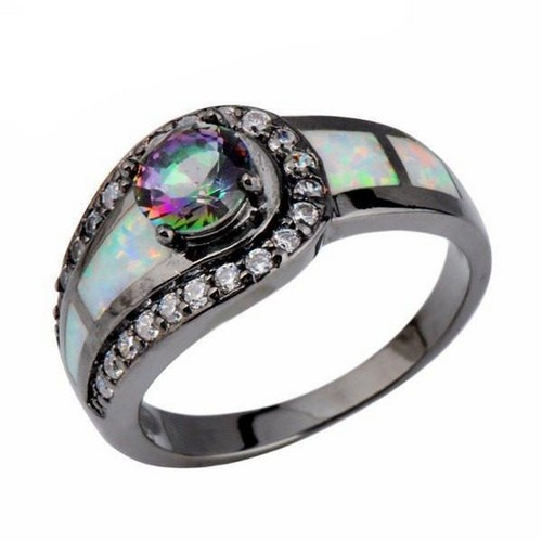 Opal Engagement Rings Gold