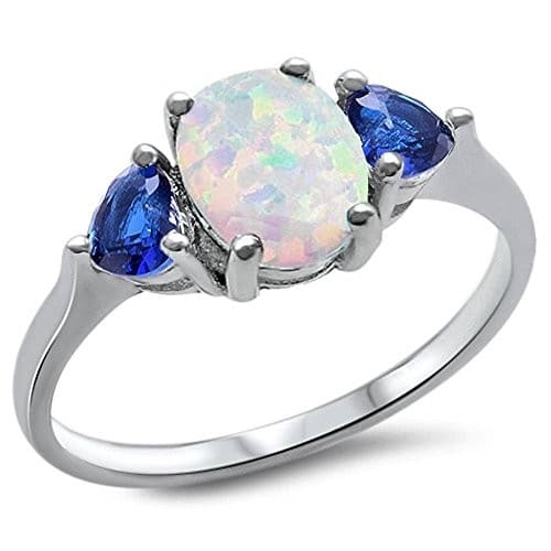Opal Engagement Rings Uk