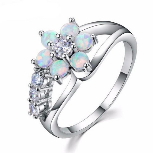 Anne Russell Honeysuckle Opal Wedding Ring U2013 Price: $42.95 U2013 Get It Via RTP