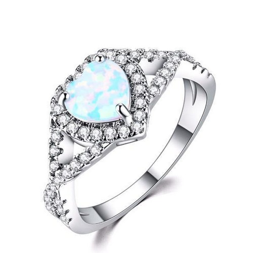 36 Most Unique Opal Engagement Rings from Etsy
