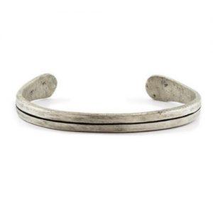 Oxidized Silver Bangles