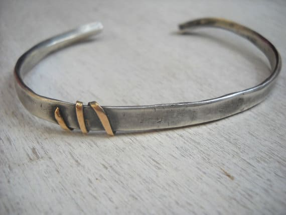 Oxidized Silver Bracelets For Men