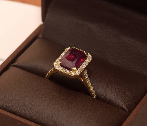 Palladium Engagement Rings For Women