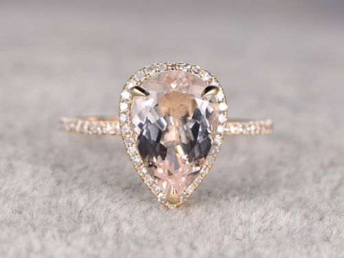 Pear Shaped Engagement Rings For Women