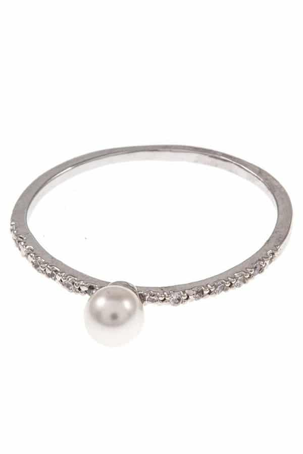 Pearl Eternity Ring