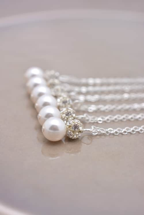 Pearl Necklace Designs Ideas