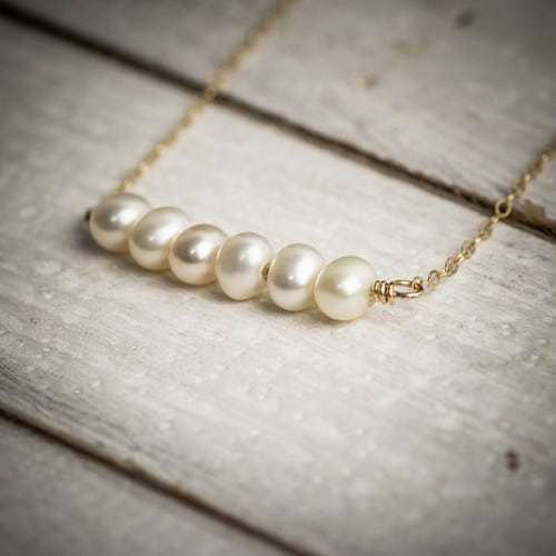 Pearl Necklace Designs Images