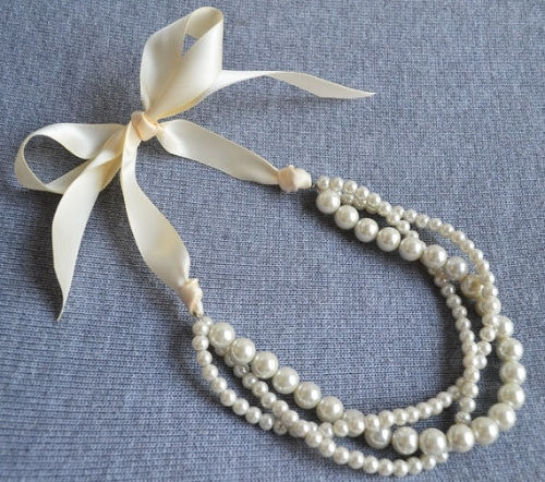 Pearl Necklace Photography