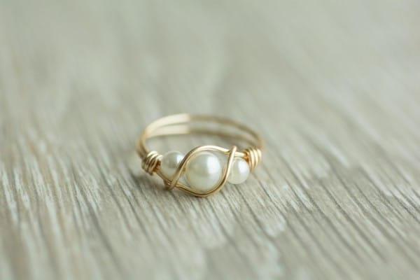 Pearl Ring Settings