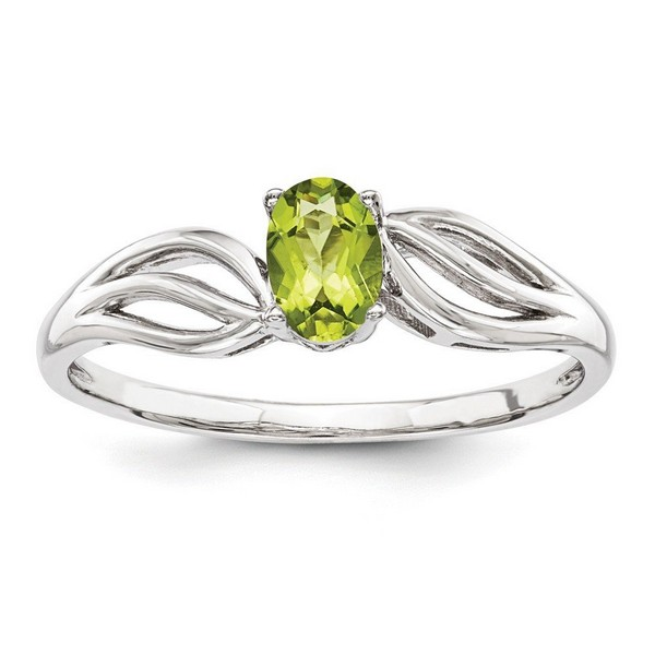 Peridot Rings Mens