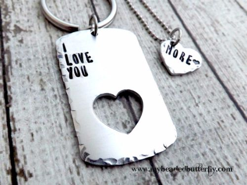 Personalized Heart Necklaces