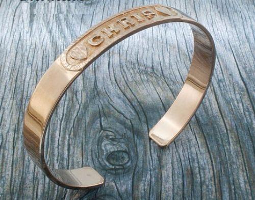 Personalized Rose Gold Bracelets