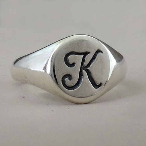 Personalized Signet Rings