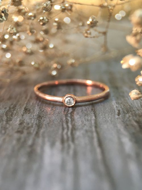 Pink Gold Engagement Rings Canada