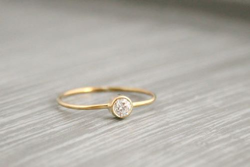 Pink Gold Engagement Rings For Women