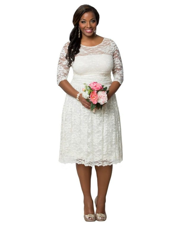 f5d4136410 37+ Plus Sized Wedding Dresses that ll look Gorgeous on You  2019