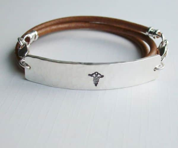Pretty Medical Id Bracelets