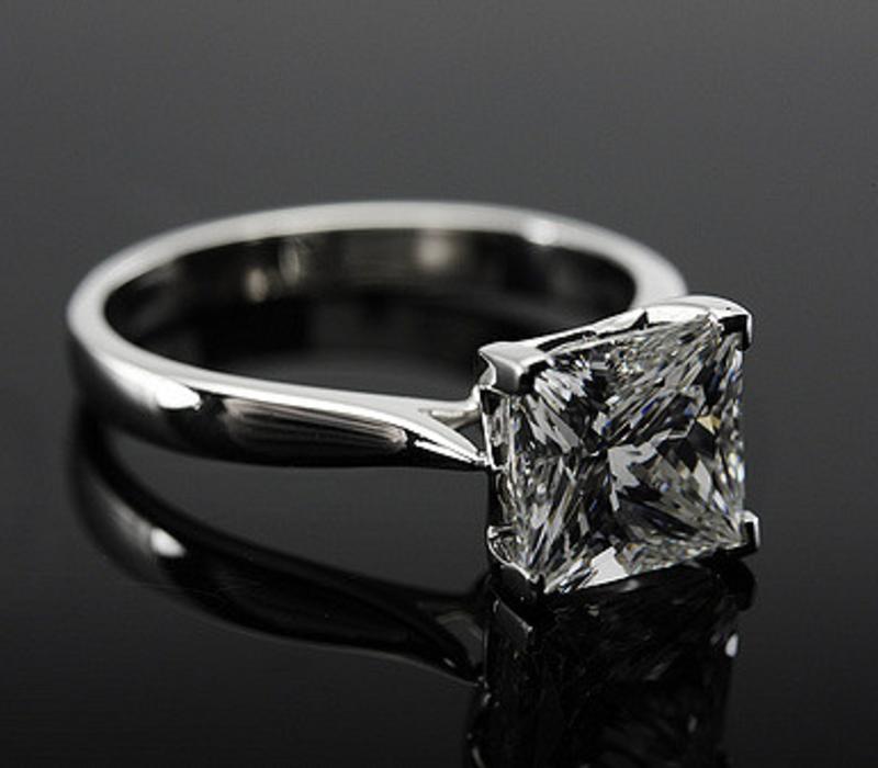 Princess Ring Stone Shape
