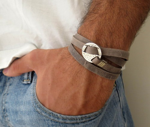Quality Mens Leather Bracelets