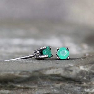 Real Emerald Earrings
