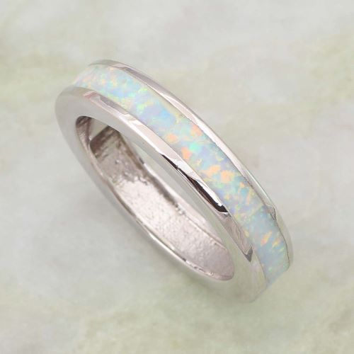 real opal engagement rings ring to perfection - Opal Wedding Ring
