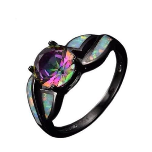 Real Opal Rings