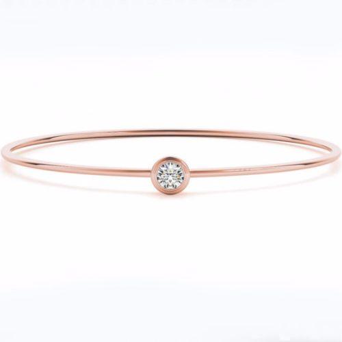 Real Rose Gold Bracelets