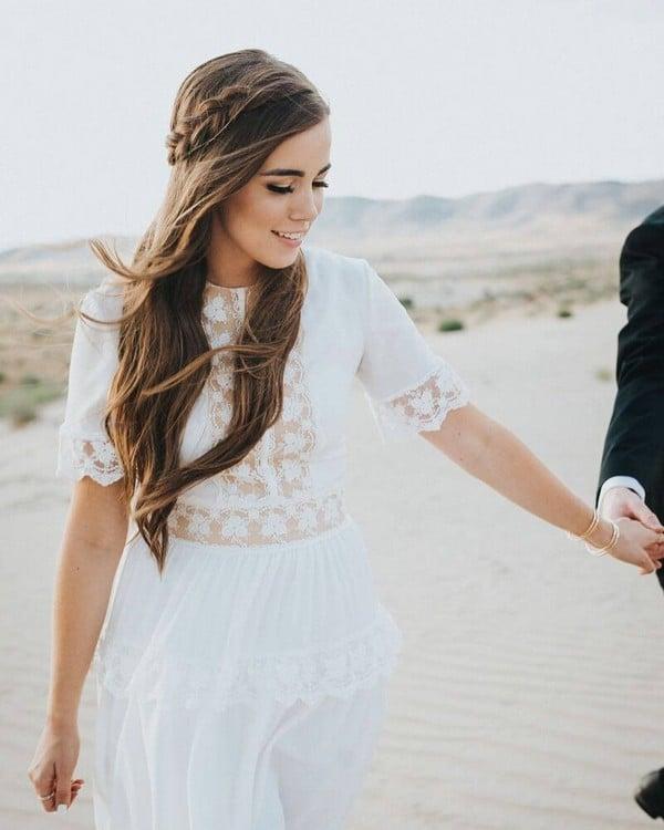 Romantic Long Wedding Dresses