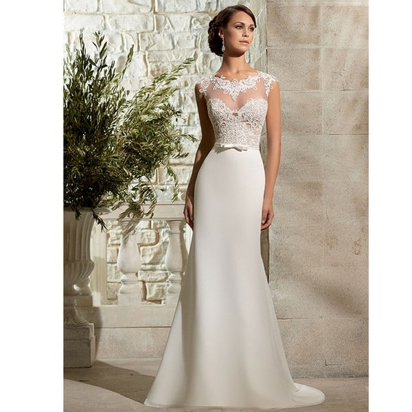 Romantic Long Wedding Dresses