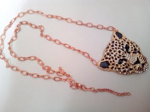 Rose Gold Circle Pendant Necklaces