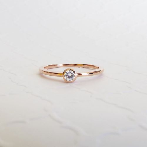 Rose Gold Engagement Rings For Women