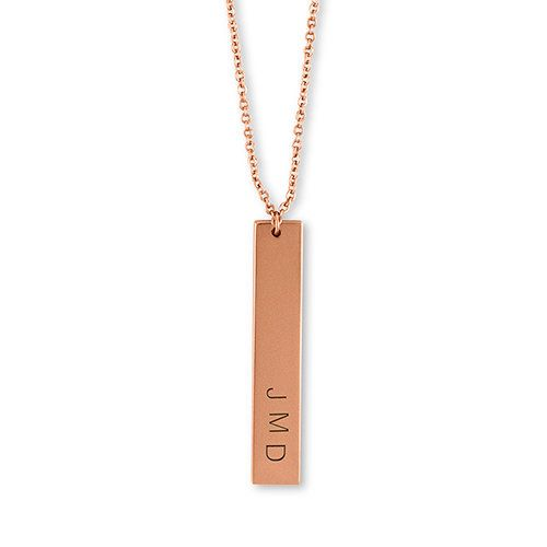 Rose Gold Name Necklaces