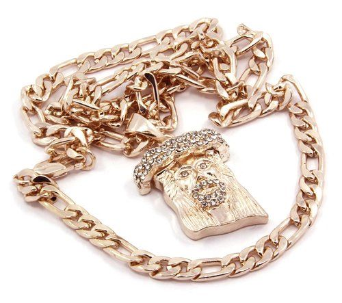 Rose Gold Necklace For Sale