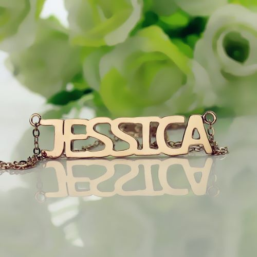 Rose Gold Necklaces Tiffany
