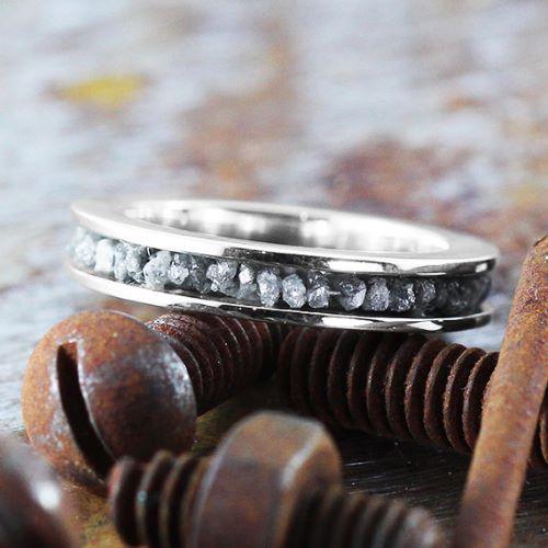 Rough Diamond Engagement Rings Australia