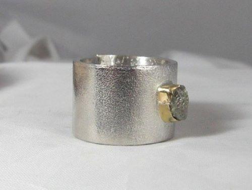 Rough Diamond Engagement Ring Canada