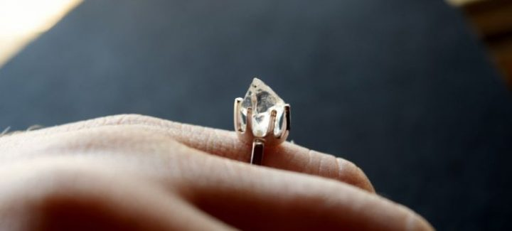 25 Stunning Unique Rough Diamond Ring