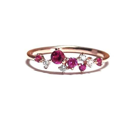 Ruby Rings Online Shopping