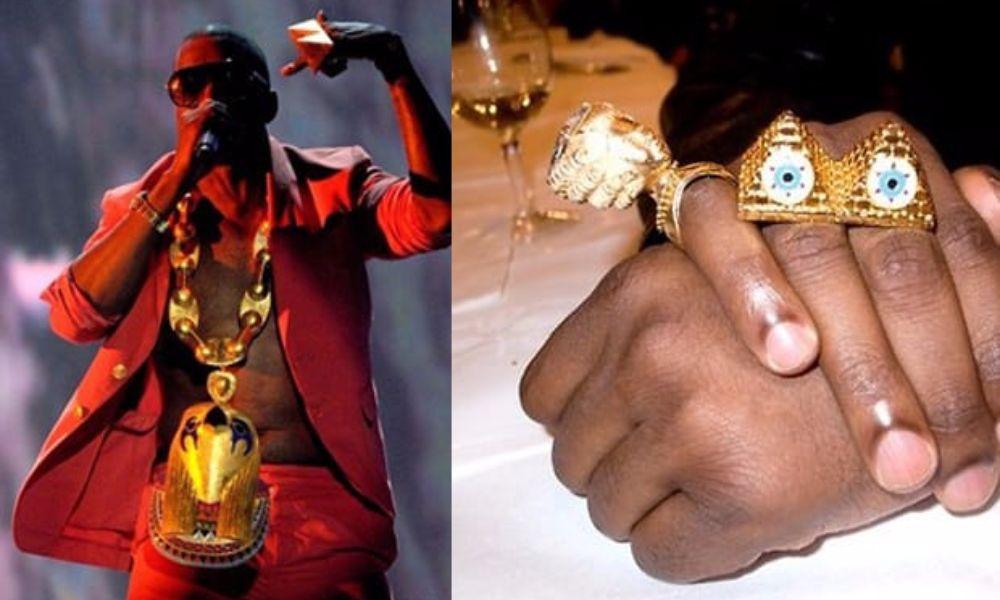Secret Symbol Illuminati Celebrities Kanye West